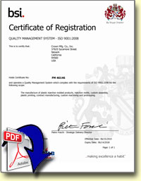 pdf download iso certificate